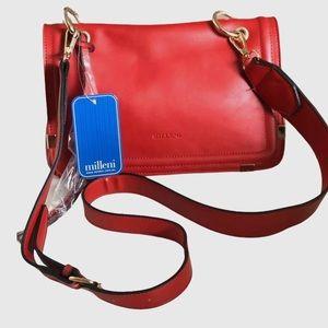 Milleni Red Crossbody Bag NWT